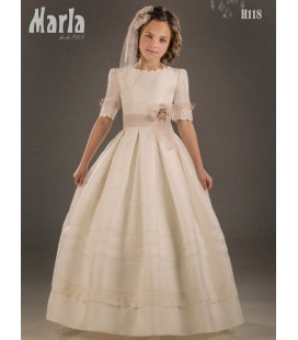 Vestido primera comunión de Marla H118