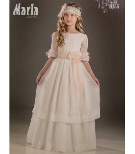 Vestido primera comunión de Marla H155