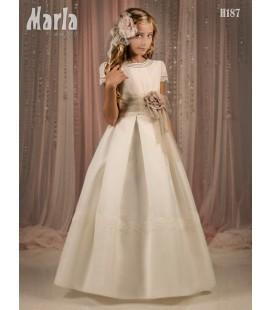 Vestido primera comunión de Marla H187