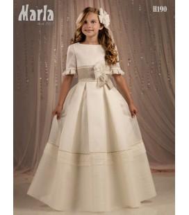 Vestido primera comunión de Marla H190