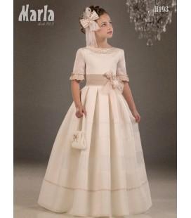 Vestido primera comunión de Marla H193