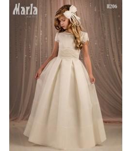 Vestido primera comunión de Marla H206