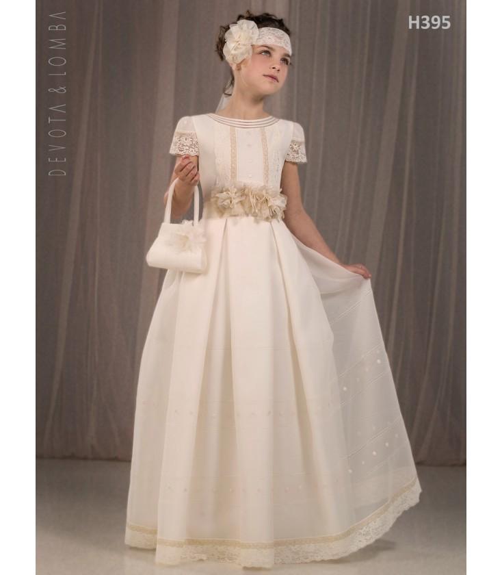 Vestidos de comunion devota y lomba