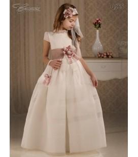 Vestido primera comunión de Cemaros Q165