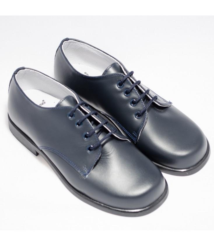 c7cbdf177 Zapatos para primera comunión azul marino para niño - Adriels Moda ...
