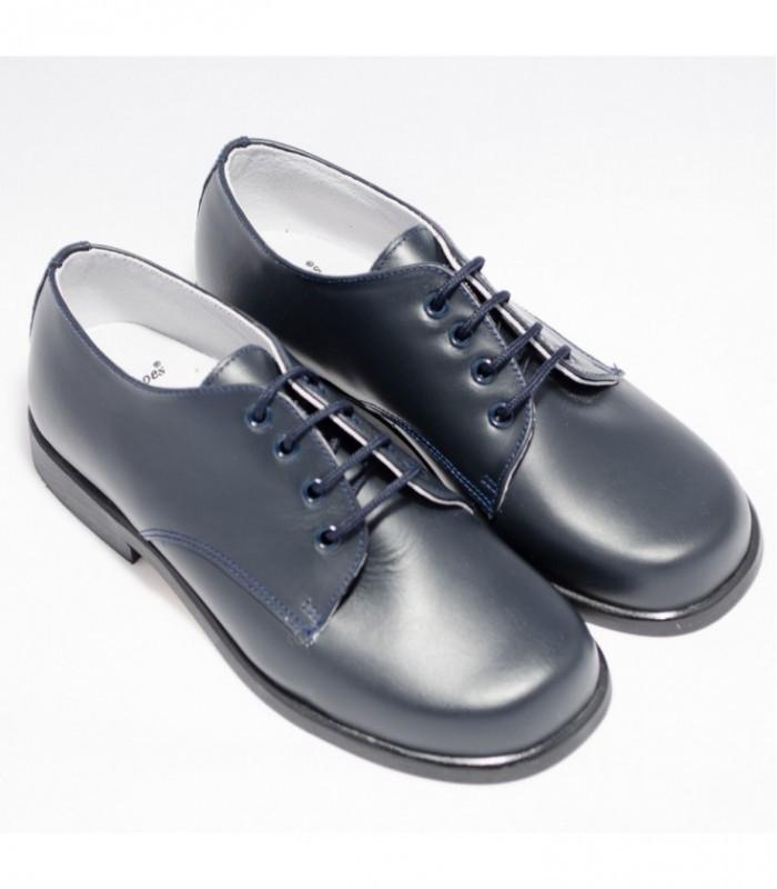 91f6526f Zapatos para primera comunión azul marino para niño - Adriels Moda ...