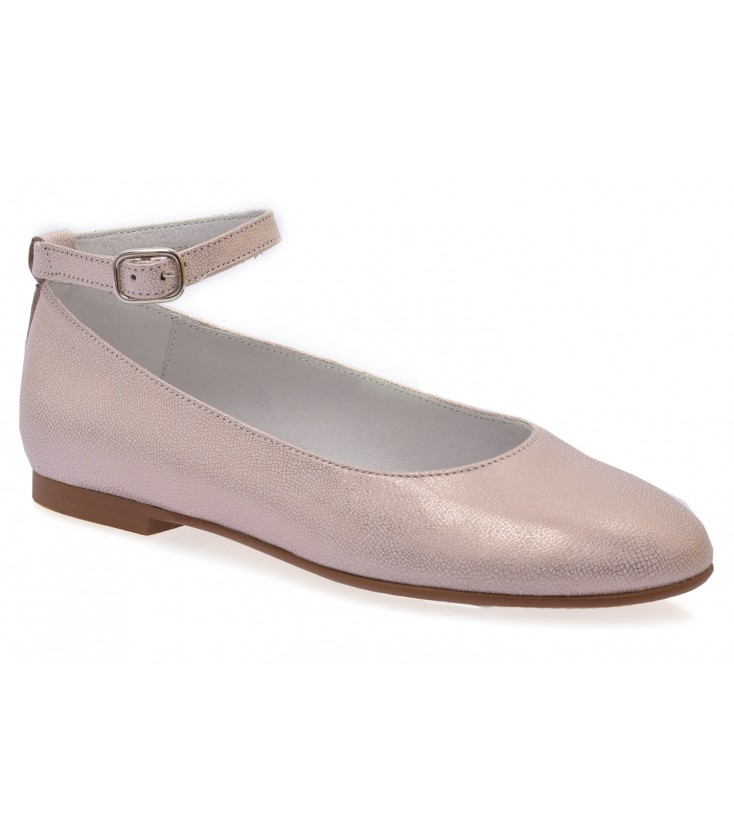 01ceef8c9 Zapatos para niña de comunión color rosa - Adriels Moda Infantil