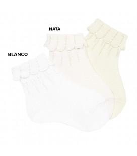 Calcetines tobilleros puño vuelto de Cóndor - Blanco
