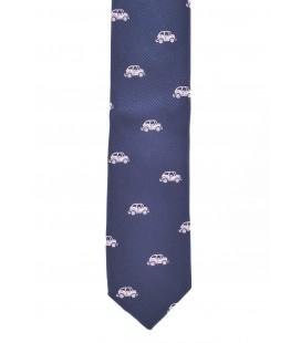 Corbata azul marino para niño de Spagnolo
