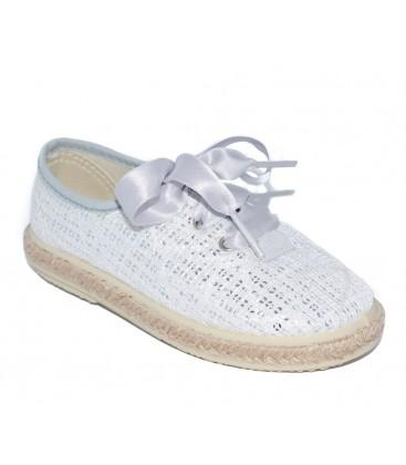 0cb2f03818d Zapato kudadro plata para niña de Vul-Peques - Adriels Moda Infantil