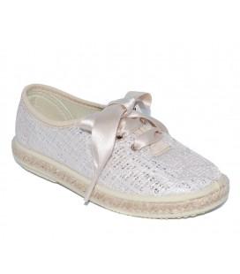 Zapato kudadro platino para niña de Vul-Peques