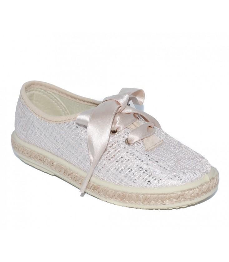 48b830ee3 Zapato kudadro platino para niña de Vul-Peques - Adriels Moda Infantil
