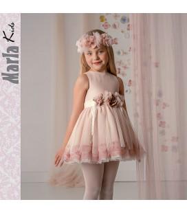 Vestido de ceremonia para niña de Marla - M002