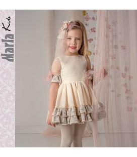Vestido de ceremonia para niña de Marla - M003