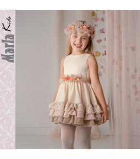 Vestido de ceremonia para niña de Marla - M004
