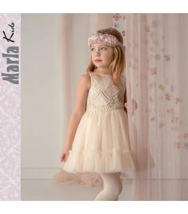 Vestido de ceremonia para niña de Marla - M005