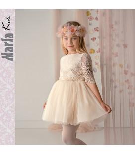 Vestido de ceremonia para niña de Marla - M006