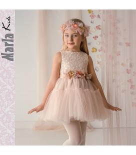 Vestido de ceremonia para niña de Marla - M008