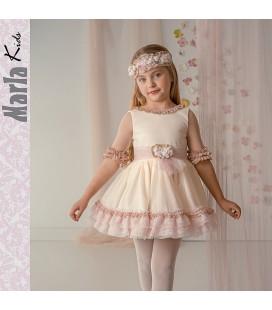 Vestido de ceremonia para niña de Marla - M011