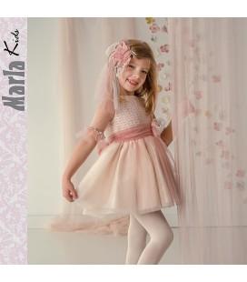 Vestido de ceremonia para niña de Marla - M015