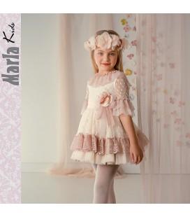 Vestido de ceremonia para niña de Marla - M016
