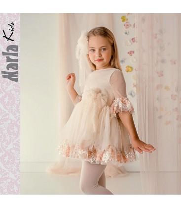 Vestido de ceremonia para niña de Marla - M021