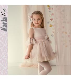 Vestido de ceremonia para niña de Marla - M024