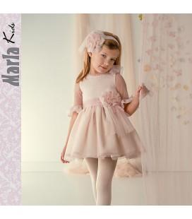 Vestido de ceremonia para niña de Marla - M025