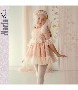Vestido de ceremonia para niña de Marla - M028