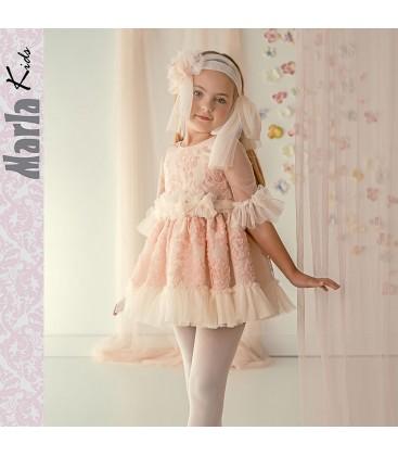Vestido de ceremonia para niña de Marla - M027