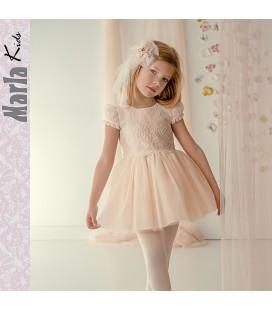 Vestido de ceremonia para niña de Marla - M030