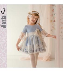Vestido de ceremonia para niña de Marla - M031