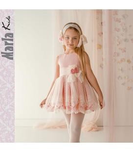 Vestido de ceremonia para niña de Marla - M032