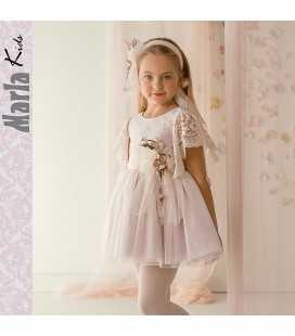 Vestido de ceremonia para niña de Marla - M033