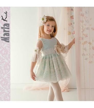 Vestido de ceremonia para niña de Marla - M034