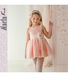 Vestido de ceremonia para niña de Marla - M035