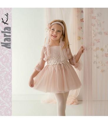 Vestido de ceremonia para niña de Marla - M036