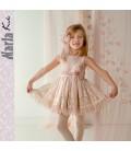 Vestido de ceremonia para niña de Marla - M037