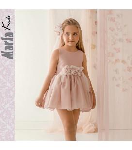 Vestido de ceremonia para niña de Marla - M038