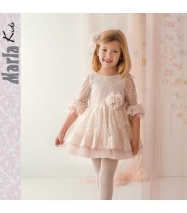 Vestido de ceremonia para niña de Marla - M039