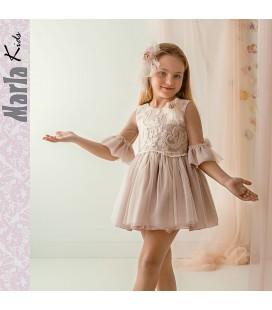 Vestido de ceremonia para niña de Marla - M040