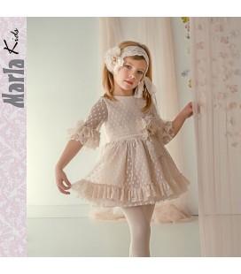 Vestido de ceremonia para niña de Marla - M041