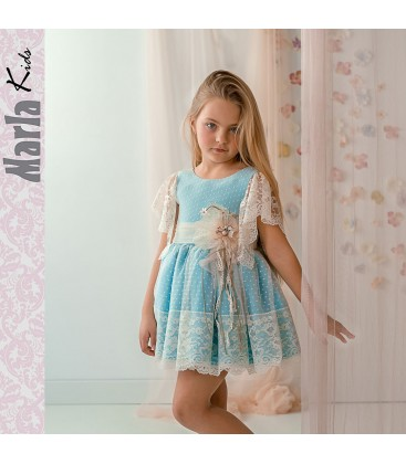 Vestido de ceremonia para niña de Marla - M043
