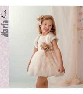 Vestido de ceremonia para niña de Marla - M044