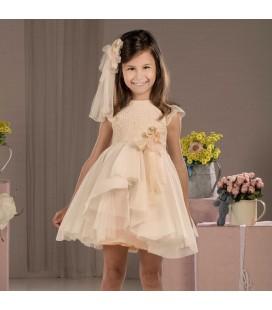 Vestido de ceremonia para niña de Marla - M014