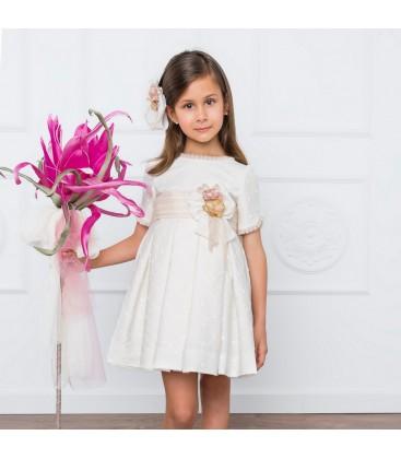 Vestido de ceremonia para niña de Marla - M020