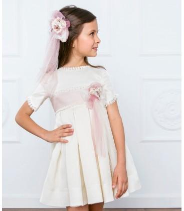 Vestido de ceremonia para niña de Marla - M019
