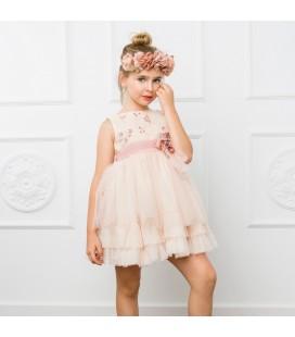 Vestido de ceremonia para niña de Marla - M018