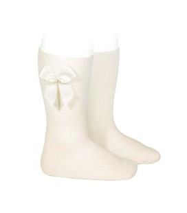 Calcetines altos algodón con lazo lateral de Cóndor - Cava