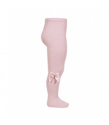 Leotardo algodón con lazo lateral de Cóndor - Rosa palo